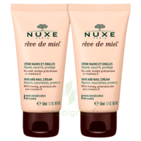 Rêve De Miel® Crème Mains Et Ongles 2*50ml à Bordeaux
