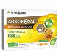 Arkoroyal Gelée Royale Bio 1000 Mg Solution Buvable 20 Ampoules/10ml à Bordeaux