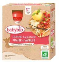 Babybio Gourde Pomme Fraise Vanille à Bordeaux