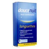 Doucenuit Antironflement Languettes, Sachet 28 à Bordeaux
