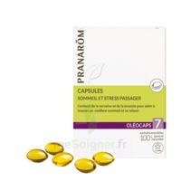 Pranarom Oleocaps 7 Caps Sommeil & Stress Passager à Bordeaux