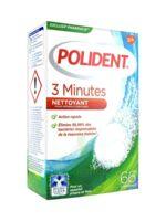 Polident 3 Minutes Comprimés Nettoyant Appareil Dentaire B/66 à Bordeaux