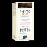 Phytocolor Kit Coloration Permanente 6.77 Marron Clair Cappuccino à Bordeaux