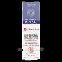 Jonzac Eau Thermale Sublimactive Crème Soin Contour Yeux Lèvres Jeunesse Immédiate 15ml à Bordeaux