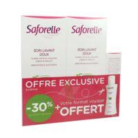Saforelle Solution Soin Lavant Doux 2*500ml+100ml à Bordeaux