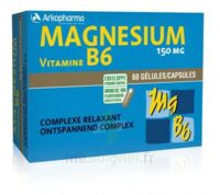 Arkovital Magnésium Vitamine B6 Gélules B/120 à Bordeaux