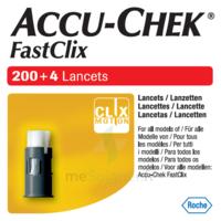 Accu-chek Fastclix Lancettes B/204 à Bordeaux