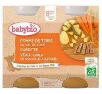 Babybio Pot Pomme De Terre Carotte Veau à Bordeaux