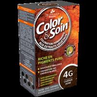 Color&soin Kit Coloration Permanente 4g Châtain Doré à Bordeaux